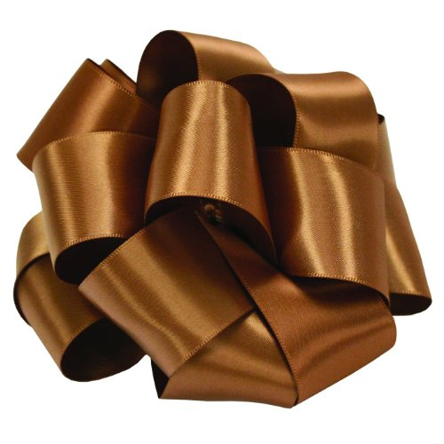 "Dress My Cupcake 1 1/2"" Double Face Satin Ribbon - Coffee (25 Yards) front-504179"