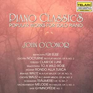 Piano Classics - Popular Works For Solo Piano