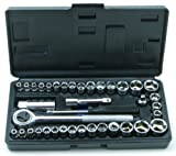 Rolson 36109 40 Piece Socket Set