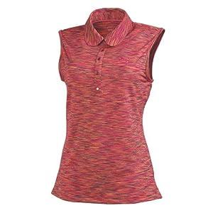 Puma Golf NA Ladies Sleeveless Space Polo Shirt by PUMA