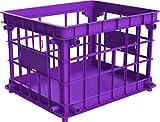 Storex Standard Letter/Legal File Crate, 17.25 x 14.25 x 11.2 Inches, Purple, Case of 3 (STX61660U03C)