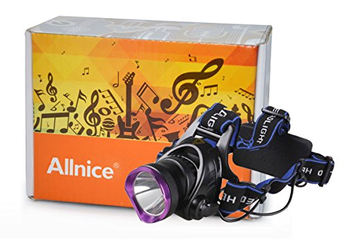 Allnice® 2000 Lumens Cree Xm-L T6 U2 Led 3 Modes Design Headlamp Headlight Head Flashlight Lamp For Outdoor Sports Such As Camping Hiking Cycling (Battery Not Included)