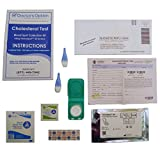 Accurate Cholesterol Home Test Kit - Complete Lipid Panel Screening Tests for HDL, LDL and Triglycerides