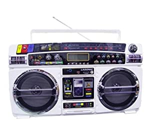Lasonic i931RU Ghetto Blaster w/ iPod Dock Rap-Up Edition