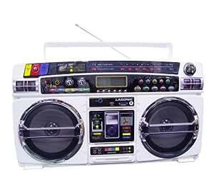 Lasonic i931RU Ghetto Blaster w/ iPod Dock Rap-Up Edition
