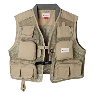 Redington Clark Fork Mesh Vest Sage Youth, Extra Small