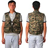 Generic 2, M : 2016 New Mens Jacket Sleeveless Veste Spring And Summer Fishing And Photography Mesh Men's Vest...