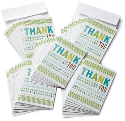 Amazon.com $25 Gift Cards - 50-pack with Greeting Cards (Thank You)