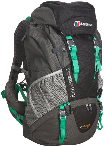 Berghaus Torridon 60 Women's Backpack - Black/Green, 60 lt