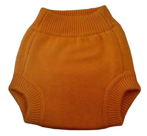 Sustainablebabyish Knit Wool Cover - Large - Squash - 1