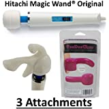 Hitachi Magic Wand HV-260 - Avoid Fakes! With 3 Attachments