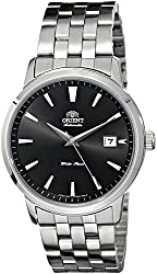 """Orient Men's FER27009B0 """"Symphony"""" Black Dial Automatic  Stainless Steel Watch"""