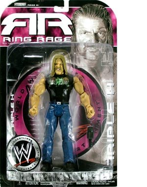 Buy Low Price Jakks Pacific RING RAGE RUTHLESS AGGRESSION SERIES 24.5 TRIPLE H ACTION FIGURE (B003SRJZO4)