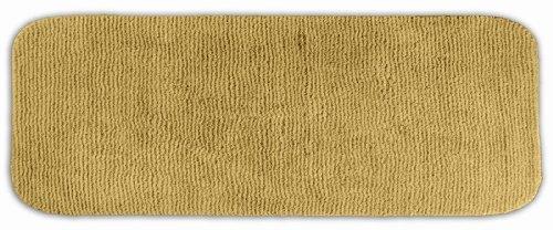 Garland Rug Glamor Runner Nylon Washable Rug, 22-Inch By 60-Inch, Linen