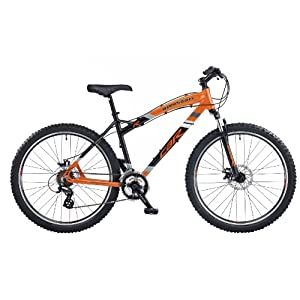 CBR Garrison Men's Bike - Orange/Black, 26 Inch