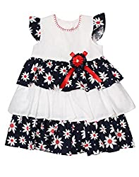 Babeezworld Baby Girl's Frock (6-12 Months)