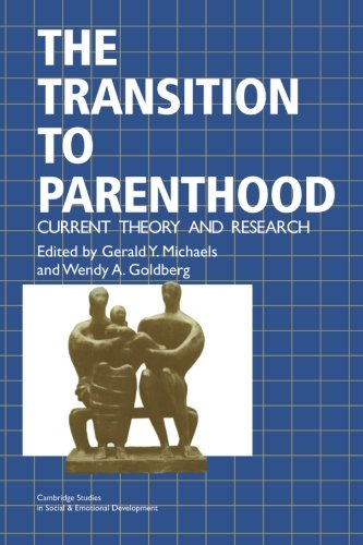 The Transition To Parenthood: Current Theory And Research (Cambridge Studies In Social And Emotional Development) front-1008893