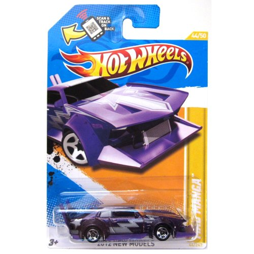 Hot Wheels 2012 New Models 44 / 50 # 044 Mad Manga Purple