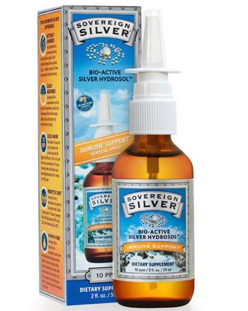 Sovereign Silver Colloidal Silver Nasal Spray- 2 oz. (60 ml)