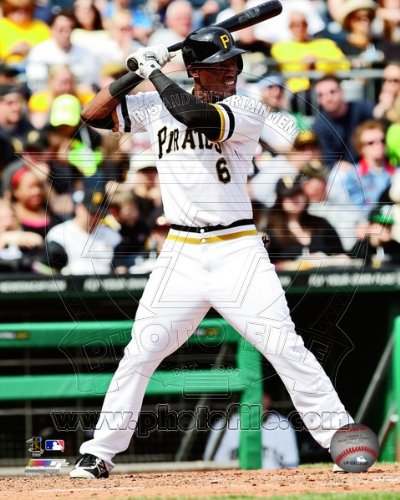 Starling Marte Pittsburgh Pirates 2013 MLB Action Photo 8x10 #8