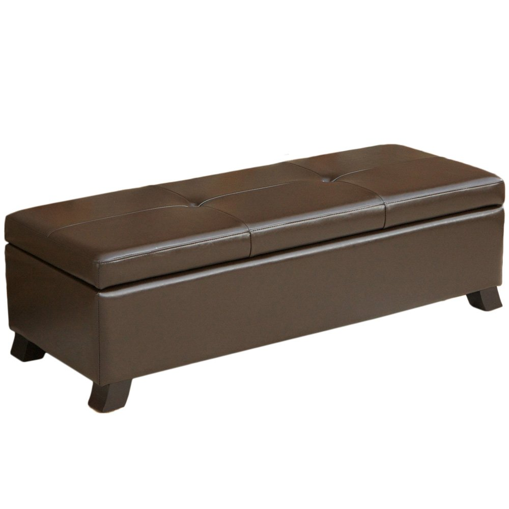 End of bed storage benches ottomans and chests olivia 39 s place Bed bench storage