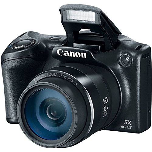 Canon PowerShot SX400 Digital Camera 16.0 Megapixel sensor with 4x Digital and 30x Optical Zoom (24-720mm) and 24mm Wide-Angle lens, 720P Video Recording (Certified Refurbished) (Canon Powershot Sx 510 compare prices)