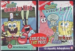 Amazon.com: Nick Jr. LIMITED EDITION 2 DVD Set Spongebob Squarepants
