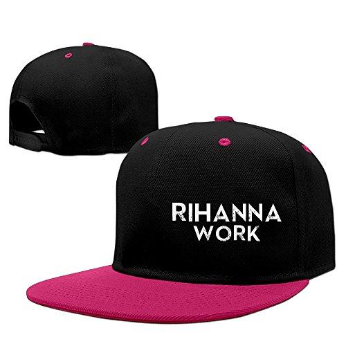 Sady Rihanna Work (Lyrics) Ft. Drake Rock Punk Baseball Caps Snapback Hats (Danny Sandy Costumes)