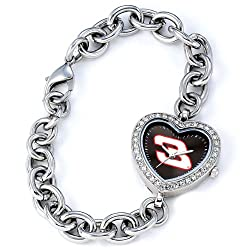 Game Time Women's NAS-HEA-EAR Dale Earnhardt Heart Watch
