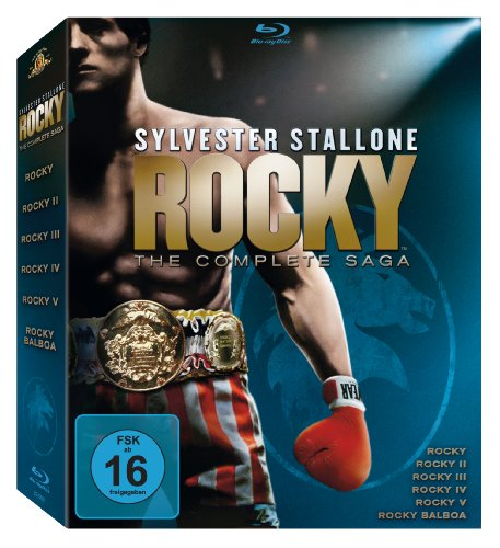 Rocky 1-6 - The Complete Saga [Blu-ray]