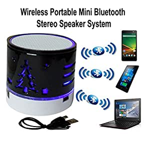 ShiningZon Mini Bluetooth Wireless Speaker Play FM Radio, Audio from TF card and Auxiliary inputs COMPATIBLE With Asus Zenfone Selfie ZD551KL