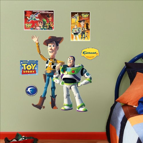 Toy Story Woody & Buzz Junior Wall Graphic (Woody Wall Decal compare prices)