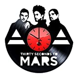 30-Second-to-Mars-Handmade-Vinyl-Record-Wall-Clock-Fun-gift-Vintage-Unique-Home-decor-Art-Design-Retro-Interier