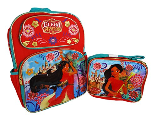 Disney Elena Avalor Backpack and Lunch Bag Combo set