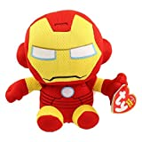 Ty Marvel Beanie Baby Iron Man 6 Inches Regular Plush (free gift with purchase)