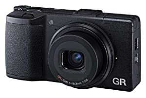 Ricoh GR Expert Compact Digital Camera - Black (16MP) 3 inch LCD Screen