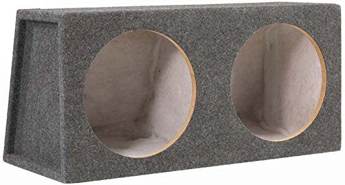Scosche Se152Cc 15-Inch Dual Subwoofer Enclosure (Grey/Black)