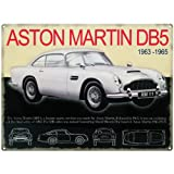Aston Martin DB5 metal sign