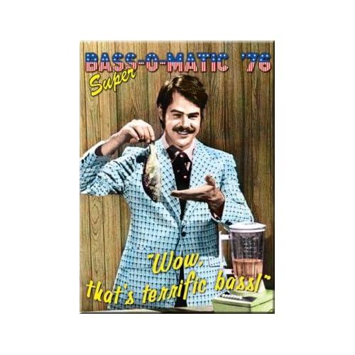 Amazon.com: Saturday Night Live Bass O Matic Dan Aykroyd Magnet 26395M
