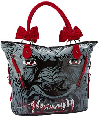 Iron Fist Bags Wolf Beater IFLPUR10895SMU Shoulder Bag,Grey,One Size