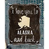 Alaska And Back By Doucette, Katie - Fine Art Print On CANVAS : 12 X 15 Inches