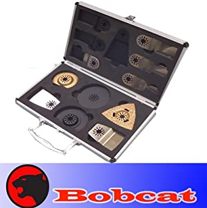 13 Pro Case Set Carbide Pcs Pro Box Pack Combo Japan Tooth BIM Carbide Diamond Standard Cut Oscillating Multi Tool Saw Blade for Fein Multimaster Bosch Multi-x Craftsman Nextec Dremel Multi-max Ridgid Dremel Chicago Proformax Blades