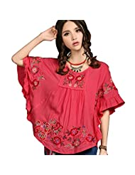 Bohemian Style Mexican Blouse