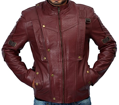 Guardians of the Galaxy Chris Pratt Leather Jacket ►BEST SELLER WITH FREE SHIPPING!!◄