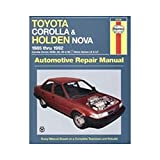 img - for Toyota Corolla and Holden Nova Australian Automotive Repair Manual: 1985 to 1992 (Haynes Automotive Repair Manuals) book / textbook / text book