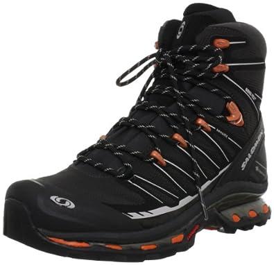 SALOMON Cosmic 4D 2 GTX Men's Hiking Boots, Grey/Black/Red, US8