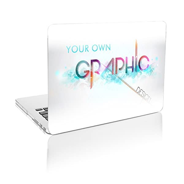 TOP CASE - Create Your Own Graphics and Text Customized Rubberized Hard Case Compatible MacBook Pro 13.3 with Retina Display (Release 2012-2015) Model: A1425 and A1502 - White Base (Color: Customizable Graphics, Tamaño: MacBook Pro 13 Retina (2012-2015 Release))