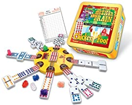 Puremco Mexican TrainChickenfoot Dual Game Set