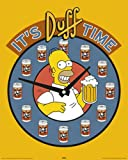 The Simpsons Mini-Poster Homer Duff Beer + Accessory Item multicoloured