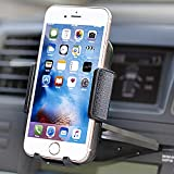 Car Mount,jamron Universal One Touch Installation Cd Slot Smartphone Car Mount Holder Cradle for Iphone 6/6 Plus/6s/6s Plus /5s/4,samsung Galaxy S6 S5,nexus 5,motorola and Other Android Phones(black)